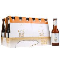 京东PLUS会员:HARBOE 哈尔博 白熊小麦啤酒 330ml*24瓶*2件