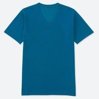 凑单品:UNIQLO 优衣库 180701 男士V领T恤