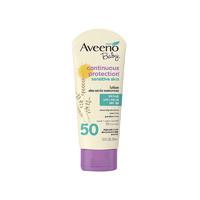 Aveeno 艾維諾 嬰兒保濕防曬霜 SPF50 112g *3件+湊單品
