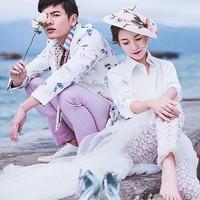 七彩玫瑰 写真旅拍婚纱摄影套系 三亚一地+2晚蜜月套房酒店