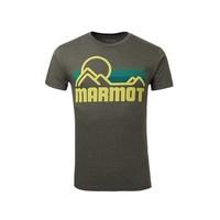 Marmot 土拨鼠 F900453 男士棉质短袖T恤