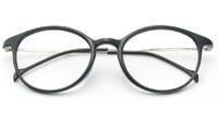 HAN TR钛塑光学眼镜架 HN43002 + 1.56非球面树脂镜片