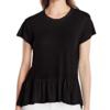 Calvin Klein Jeans Peplum 女士亚麻T恤