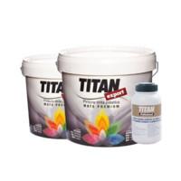 TITAN 堤丹 经典系列 内墙乳胶漆套装(4L面漆*2桶+1L超浓缩底漆*1桶)