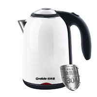 Grelide 格来德 WWK-D1513K 1.5L 电水壶(304不锈钢)