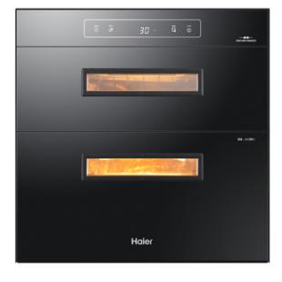 Haier 海尔 ZQD100F-E60S2(T)二星级 嵌入式消毒柜