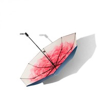 BANANA UNDER 蕉下 双层小黑伞系列三折伞 蓝槿/洛荷