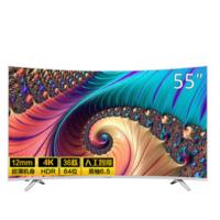 KONKA 康佳 LED55UC3 55英寸 曲面 4K液晶电视