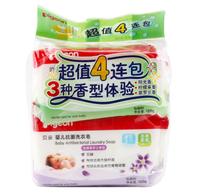 Pigeon 贝亲 婴儿抗菌洗衣皂 120g 4包装