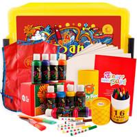 Joan Miro 美乐 幼儿可水洗绘画7件套 收纳礼盒装 *3件
