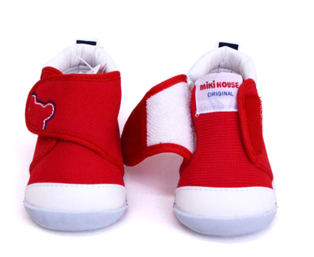 MikiHouse First Shoes 一段 婴儿学步鞋