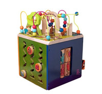 B.toys 动物园活动木立方 中号