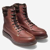 COLE HAAN Lockridge 男款中帮工装靴