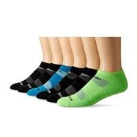 中亚Prime会员:saucony 索康尼 Performance 支撑型运动短袜 6双装 *3件