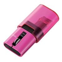 凑单品:ELECOM 宜丽客 M-CC1BRWH 三键红外 无线鼠标(粉色)