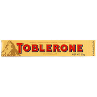 临期品、限地区:Toblerone 瑞士三角 巧克力 含蜂蜜及巴旦木糖 50g *5件