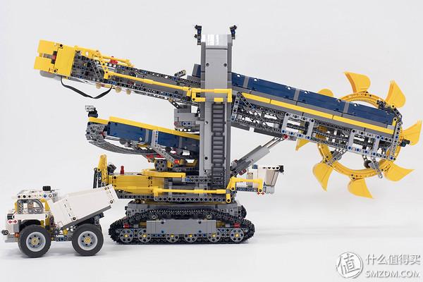 lego 乐高 科技系列 42055 斗轮挖掘机图片
