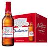 百威(Budweiser)啤酒 大瓶装 460ml*12瓶 *4件