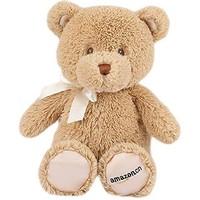 GUND 我的第一只泰迪熊 毛绒玩具(10寸、25cm、浅棕色、亚马逊定制款)
