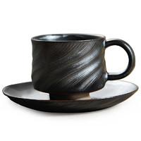 佑生活 旋.咖啡杯碟