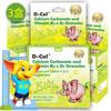 D-Cal 迪巧 K2+D3 婴幼儿碳酸钙 3盒