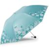 天堂 双层黑胶防晒 晴雨伞