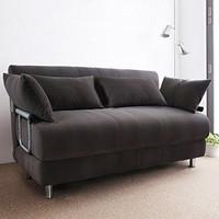 择木宜居 SC17 布艺折叠沙发床 1.2m