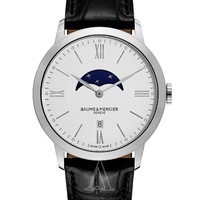 BAUME & MERCIER 名士 CLASSIMA EXECUTIVES系列 MOA10219 男士时装腕表