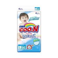GOO.N 大王 婴儿超薄柔软尿不湿纸尿裤 L号 54片*2包装