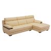 左右沙发 DZY2835 头层牛皮L形转角沙发组合(三人位+贵妃位)