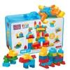 Mega Bloks 美高 CNM43 积木玩具 (150粒,大颗粒)+MEGA BLOKS 美高 CYR24 无限想象小块积木