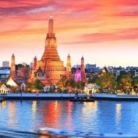 含国庆班期:上海/广州/沈阳-泰国曼谷芭提雅6-8日自由行