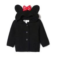 Gap x Disney男女婴儿迪士尼系列 844384 米妮纯棉针织衫