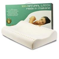 EcolifeLatex PT3M 乳胶护颈枕(平滑高款)