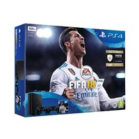 SONY 索尼 PlayStation 4 Slim 500GB 双手柄《FIFA18》同捆版游戏主机
