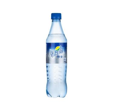 雪碧 零卡 清爽柠檬味汽水 500ml
