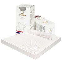 paratex 泰國原裝進口天然乳膠床墊 榻榻米床褥子180*200*10cm 乳膠含量94%