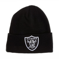 New Era Oakland Raiders 男士针织帽