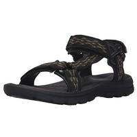 限尺码:SKECHERS 斯凯奇 USA系列 64721 男士休闲凉鞋
