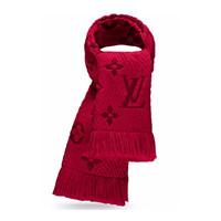 LOUIS VUITTON 路易威登 LOGOMANIA M72432  羊毛真丝围巾