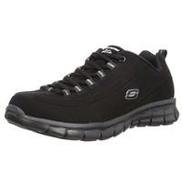 限US6 E码:SKECHERS 斯凯奇 Sport系列 Elite Synergy 女士休闲运动鞋