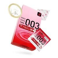 Okamoto 冈本 003透明质酸超润滑安全套 10片装 *5件