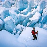 当地玩乐:新西兰福克斯冰川 直升机徒步/攀冰探险体验
