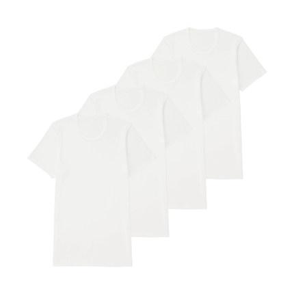 UNIQLO 优衣库 182516 男士圆领T恤 4件装