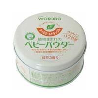 凑单品:Wakodo 和光堂 天然绿茶 爽身粉 120g