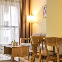 当地民宿:西双版纳万达国际度假区北欧风4人2居家庭套房