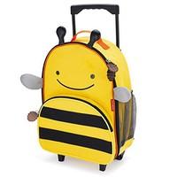 中亚Prime会员:Skip Hop 可爱动物园 小蜜蜂行李箱书包 *2件