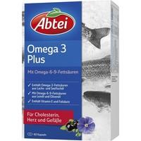 凑单品:Abtei 爱普特 深海鱼油Omega-3-6-9+亚麻油+橄榄油胶囊 60粒