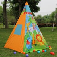 Fisher-Pric 费雪 儿童室内玩具游戏屋 送30海洋球 *2件 +凑单品