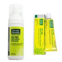 凑单品:Thursday Plantation 星期四农庄 茶树祛痘泡沫洗面奶150ml+ 茶树祛痘凝胶25g